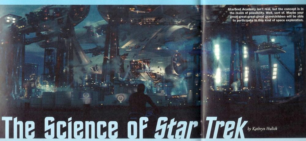 Odyssey Science of Star Trek 2009