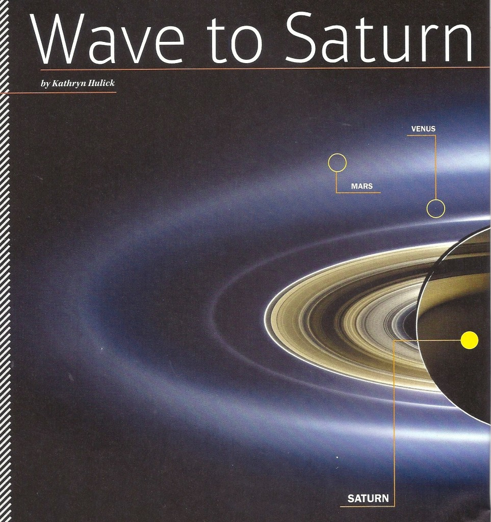 Wave-to-Saturn